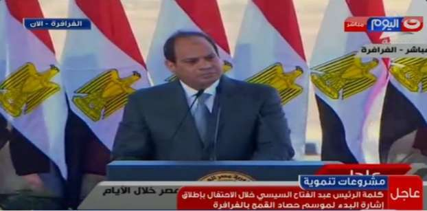 Egypt's Sisi to announce his term's 'achievements'  next month
