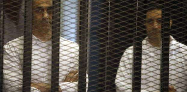 Egypt court upholds release of Gamal, Alaa Mubarak in 'presidential palaces' case