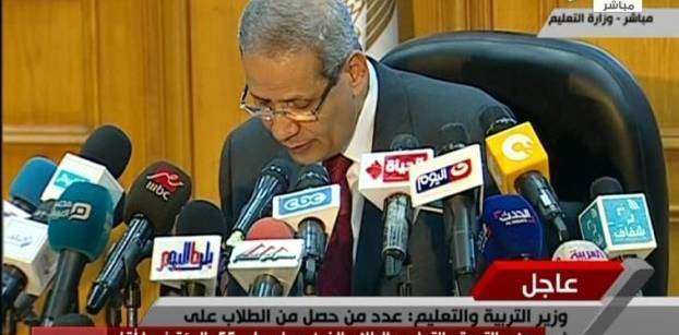 75.7 per cent success rate in Egypt's Thanaweya Amma: Education Minister