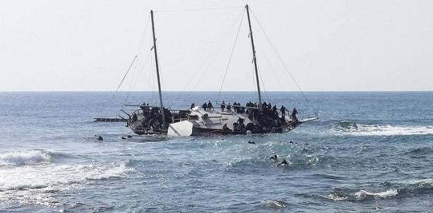 Dutch ship rescues nearly 200 migrants in Mediterranean