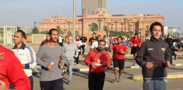 Cairo Runners holds Marathon in downtown Cairo