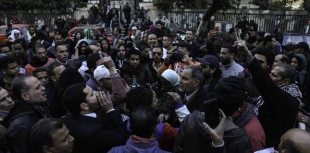 Cairo police station refuses to receive protest notification - rights lawyer