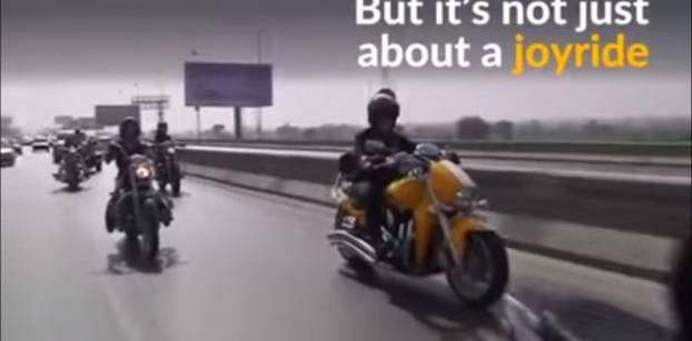 Egypt's women bikers defy stereotypes