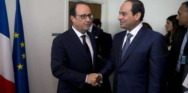 Sisi  points to 'attempt to isolate Egypt' during French president's visit