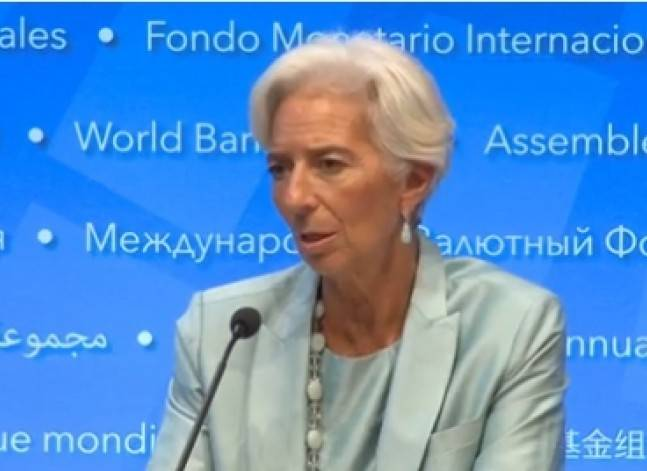 IMF set to decide on Egypt's loan request on Nov. 11, Lagarde backs approval