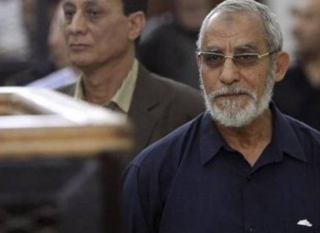 Military court sentences Muslim Brotherhood Supreme Guide to 10 years in jail