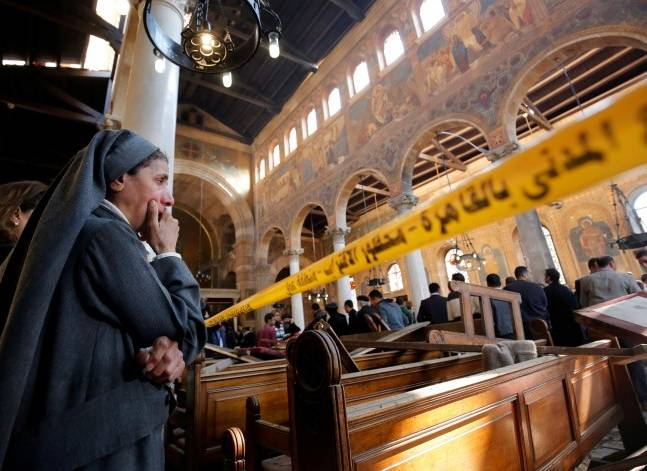 Islamic State claims responsibility for Egypt church attack