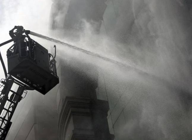 Update: injuries in Cairo's Ataba fire rise to 74, no deaths – health ministry
