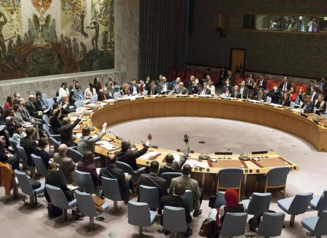 U.N. Security Council demands end to Israeli settlements, U.S. abstains