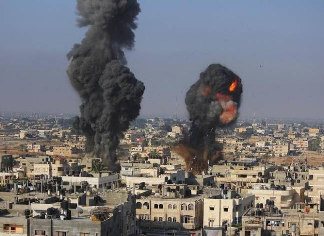 Egypt 'mediates' ceasefire after fresh round of Israeli airstrikes on Gaza