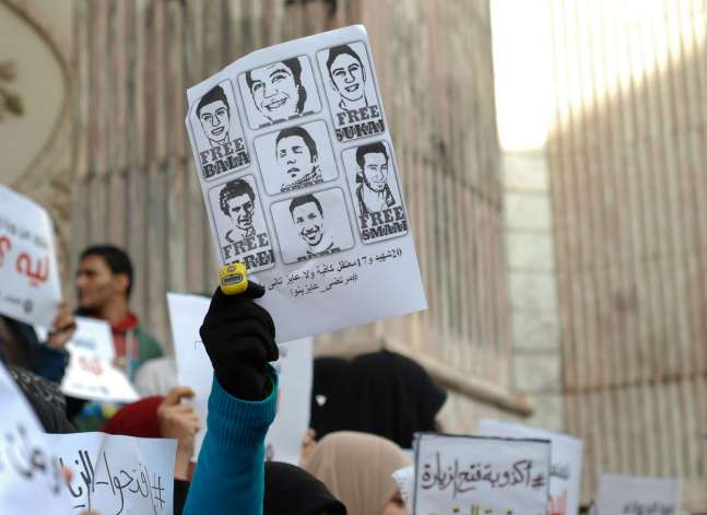 With little room for outcry, Egyptian detainees turn to hunger strikes