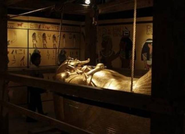 U.S. to help Egypt restore hundreds of pharaonic era coffins