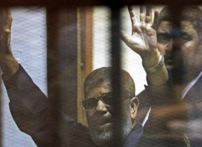 Egypt court sentences Mursi to 40 yrs, six others to death in Qatar espionage case