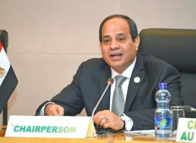 Egypt's Sisi hands over leadership of AU climate change committee to Gabon's president