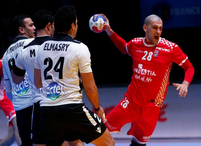 Egypt exit World Handball Championship after losing to Croatia