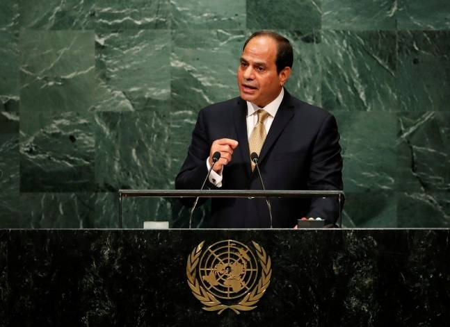 Sisi urges Israel to 'move toward peace', says Egypt is anchor of stability