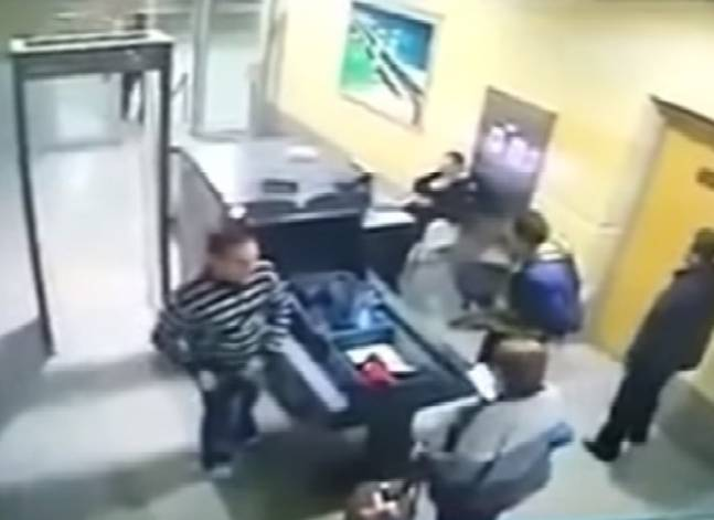Egypt's interior ministry releases footage of alleged hijacker passing through airport security