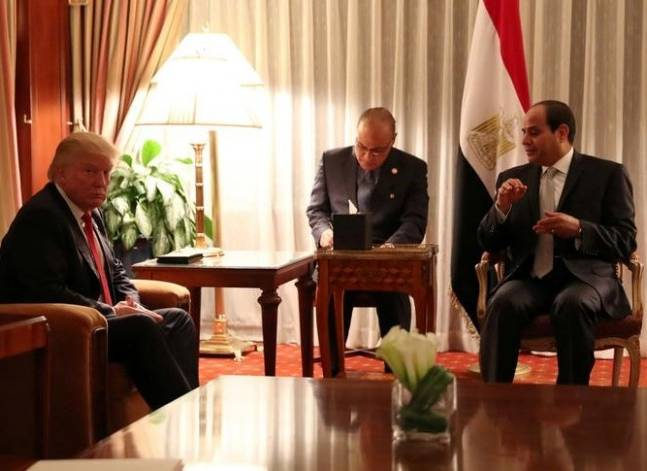 Egypt's Sisi praises Donald Trump, expects more US engagement in Middle East