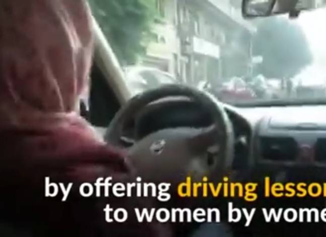 Female-only driving school hopes to shatter stereotypes