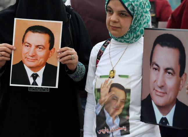 Egypt's ex-president Mubarak denies killing protesters as final retrial begins