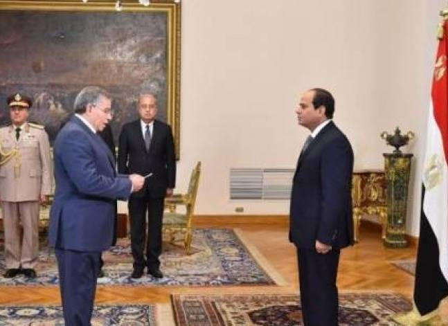"Egypt's Sisi says cabinet reshuffle ""very soon"""