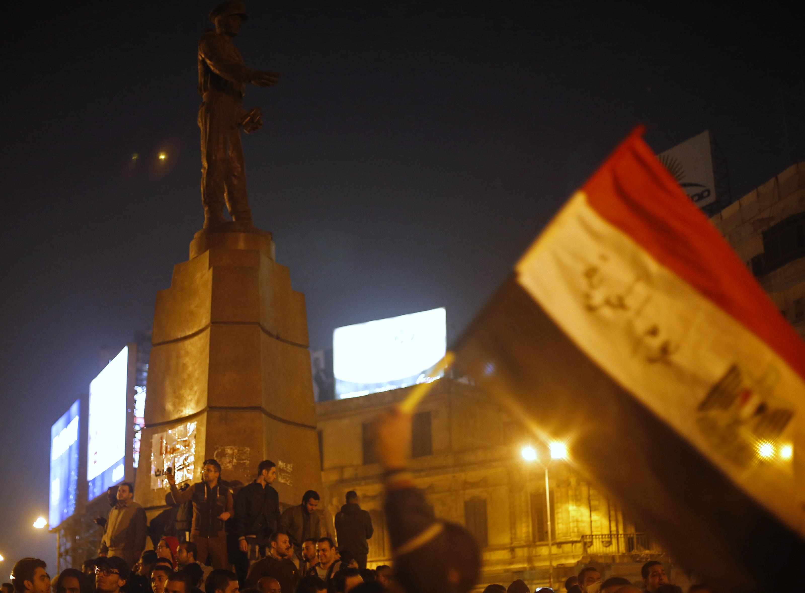 10 protesters arrested near Tahrir Square