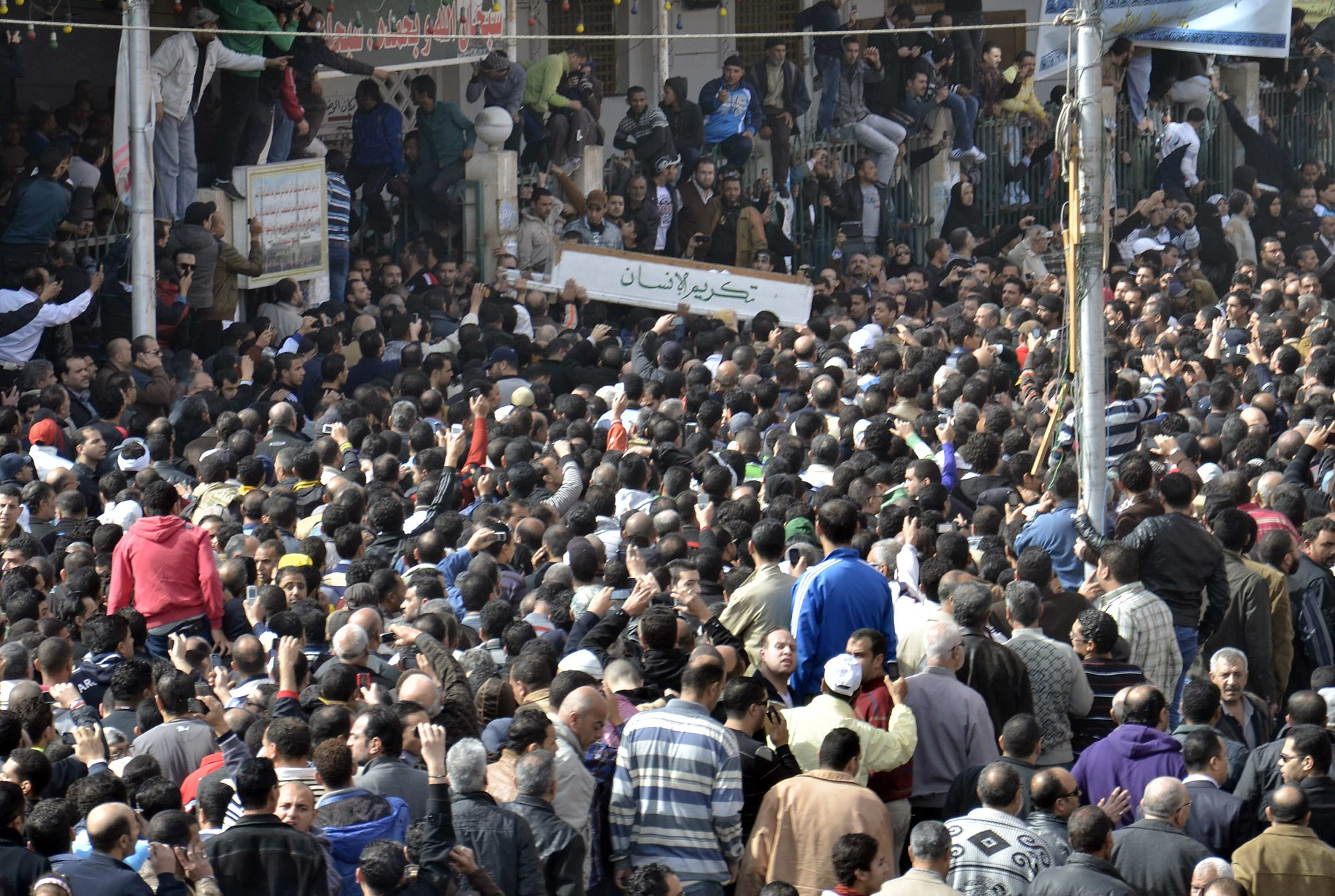 Anger flares up in Port Said after Mursi's speech