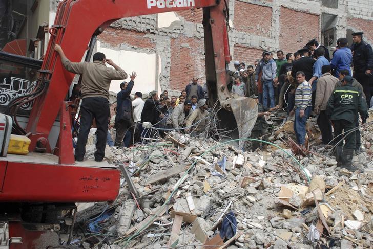 11 killed in building collapse in Cairo- MENA