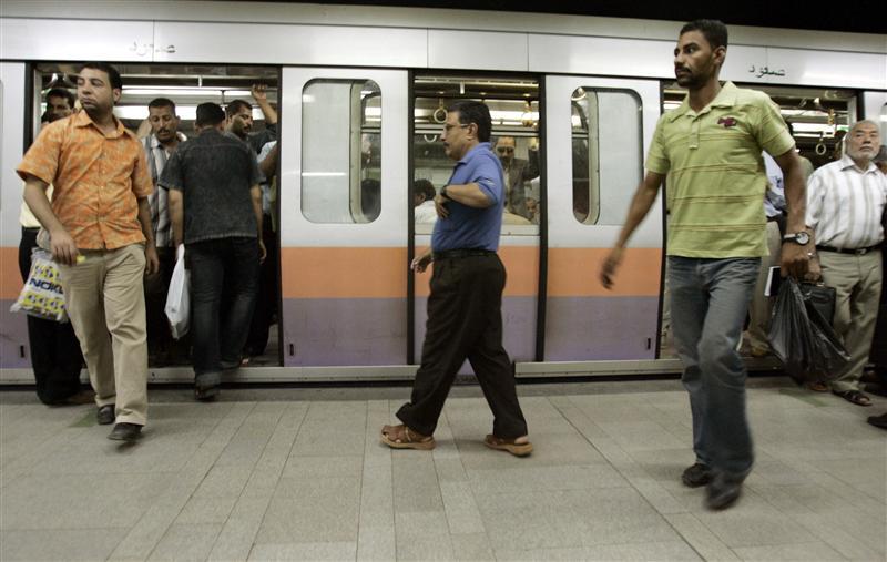 Egypt indefinitely closes downtown's Sadat metro station for