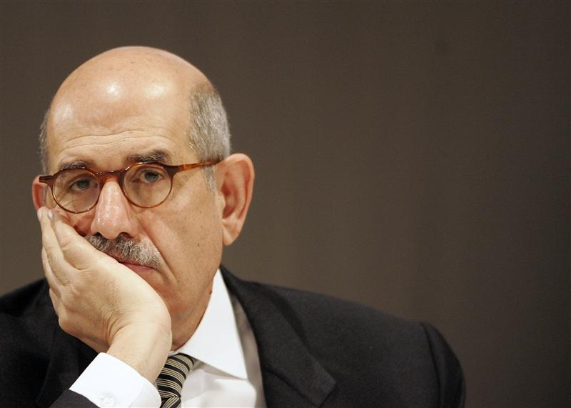 "ElBaradei says will not join ""sham democracy"""