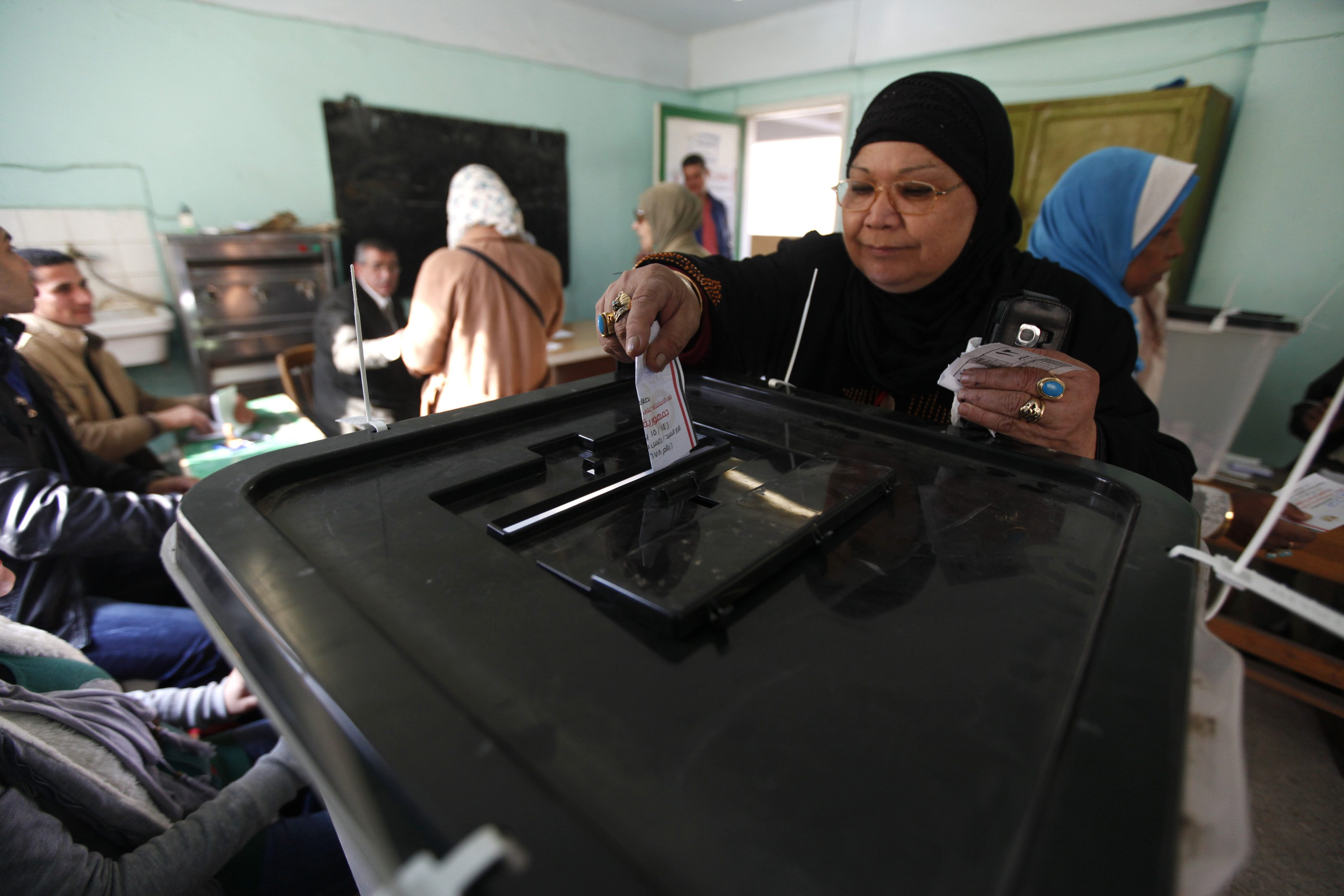 BREAKING l 38.6% participated in Egypt's constitutional referendum
