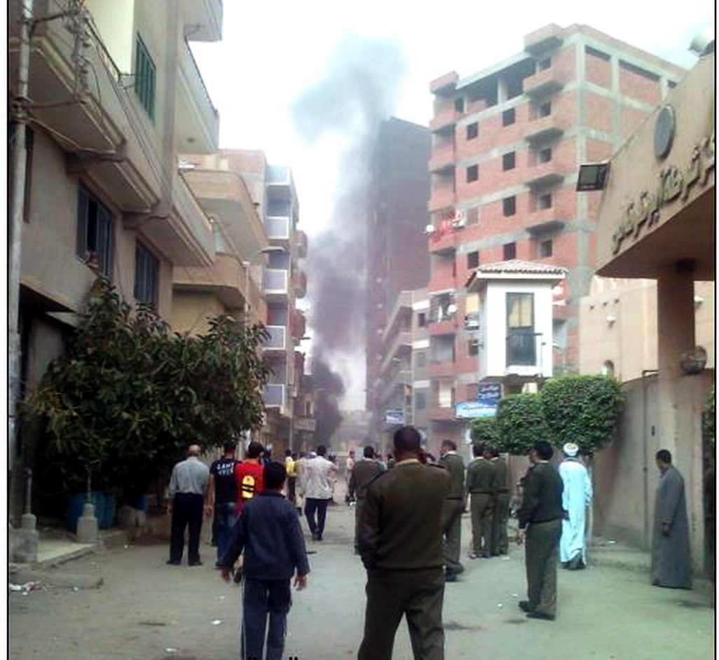 Brotherhood supporters clash with Minya residents
