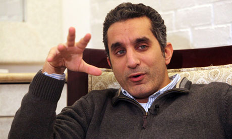 Arrest warrant against Egypt's political satirist Bassem Youssef