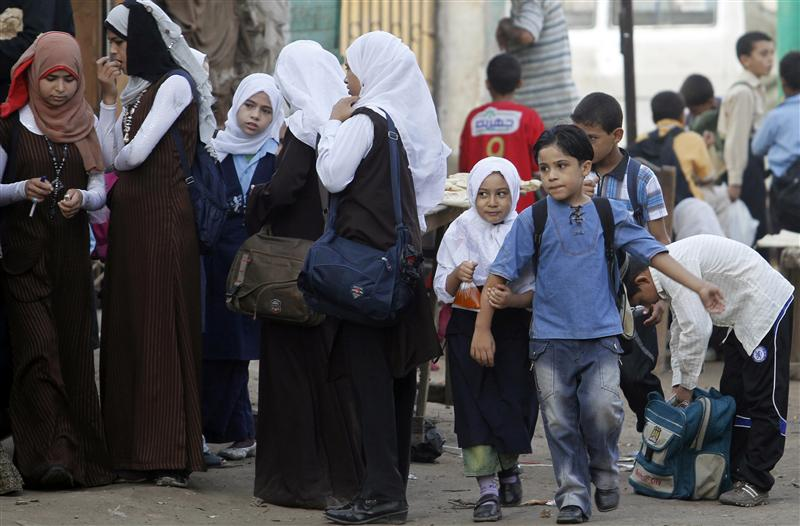 Egypt exempts public school students from fees