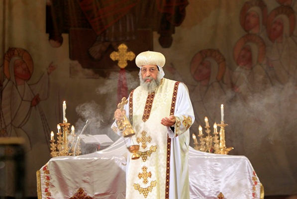 Egyptian Copts celebrate the Feast of the Resurrection