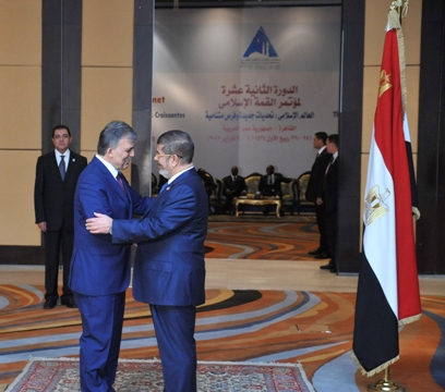 Mursi discusses economic, trade cooperation with Turkey's Gul