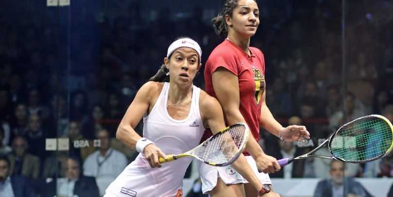 Egyptian woman ranks first in squash