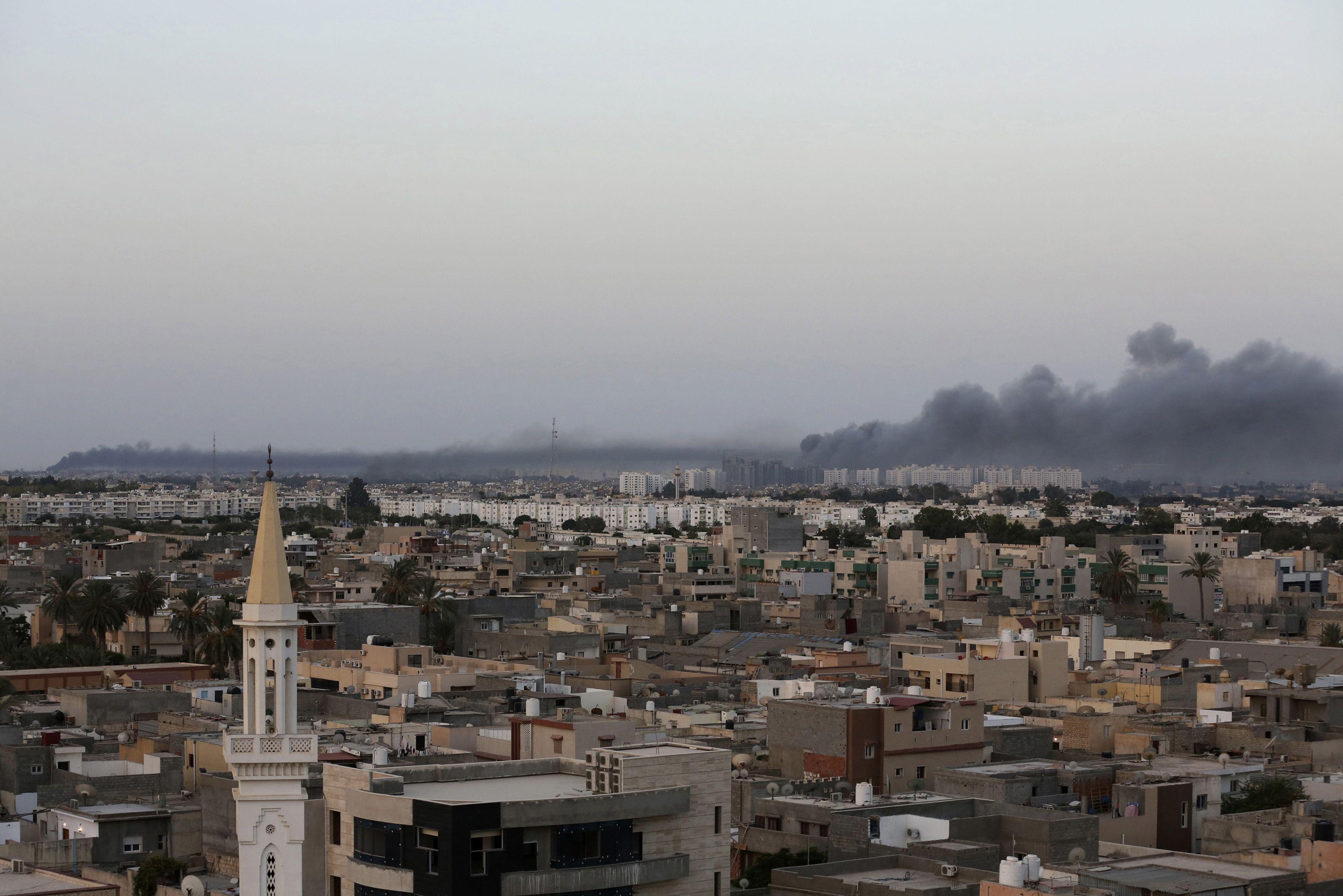 Sisi denies Egyptian military operation in Libya