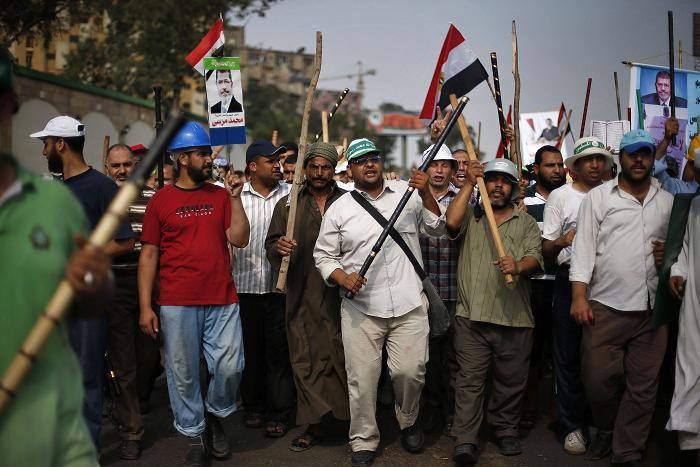 FJP says Mursi supporters at Rabaa Adaweya are four million
