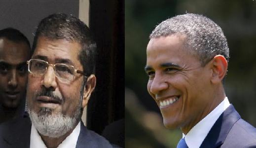 Message from Obama to Mursi