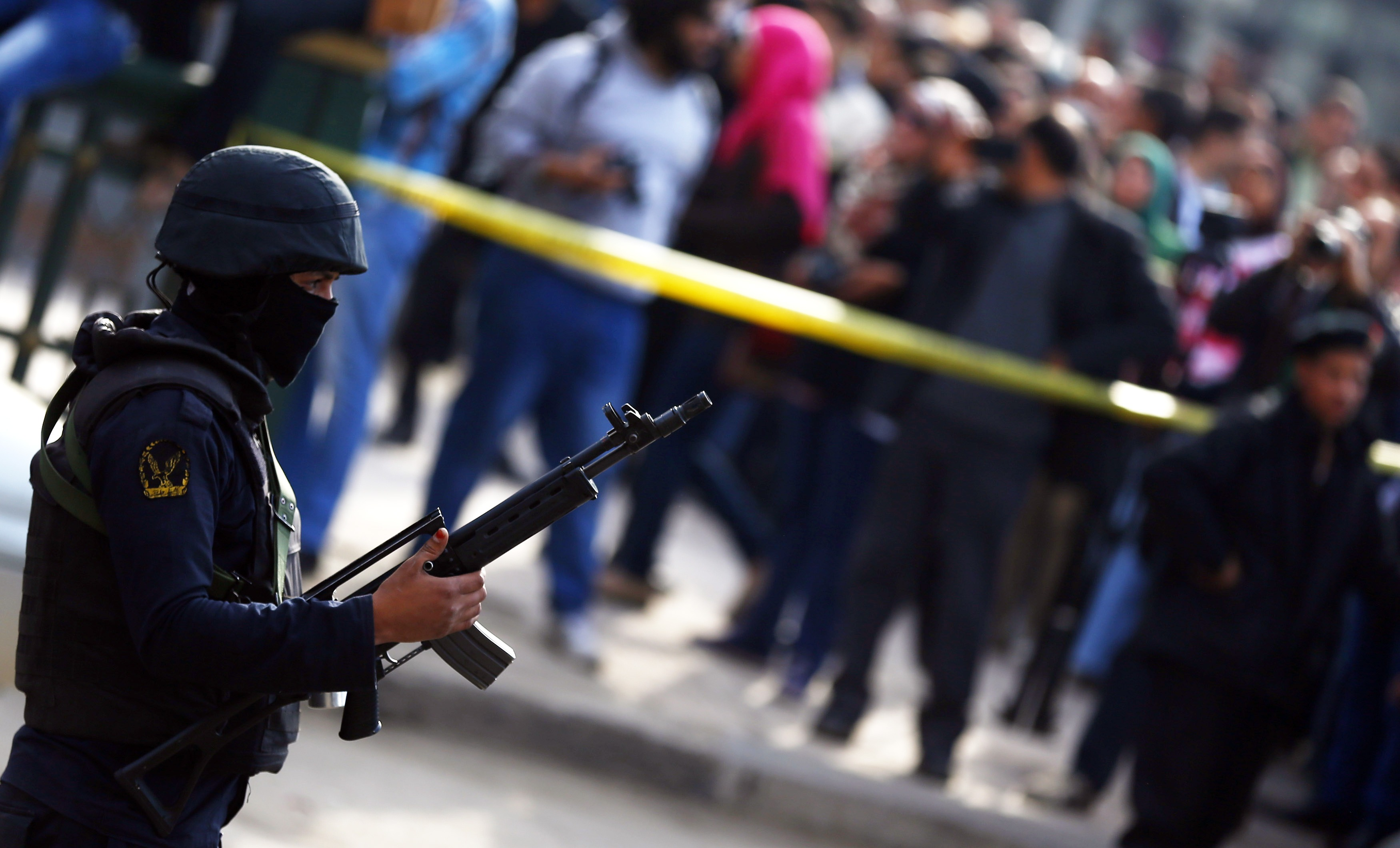 22 referred to Egyptian criminal court for 'terrorist acts' - state agency