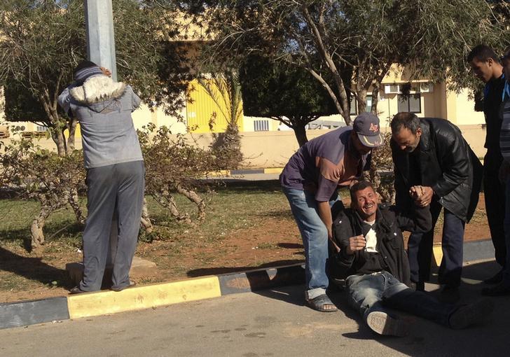 Bodies of slain Coptic family in Libya land in Egypt
