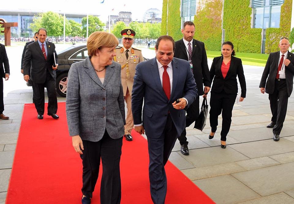Egypt is trying to 'protect' human rights - Merkel