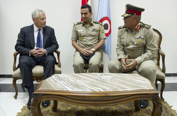 Egypt, US discuss regional security