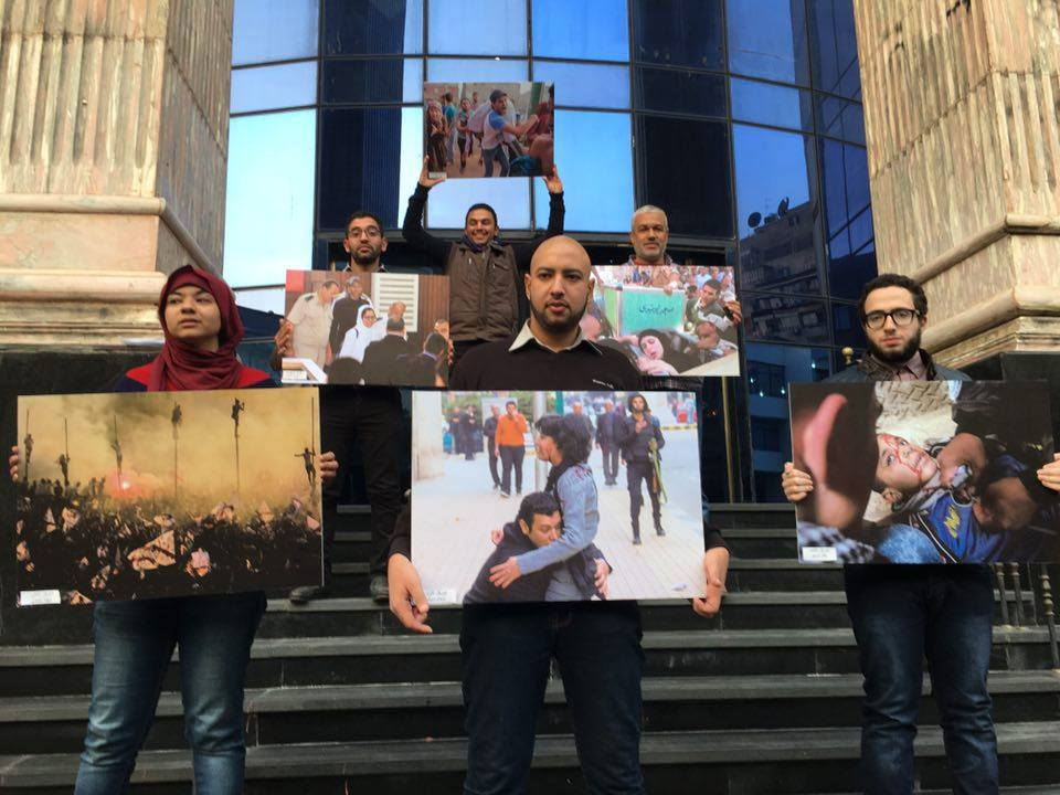 In honour of Shawkan, photojournalists receive awards for remarkable contributions