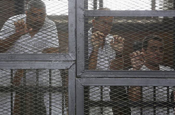 UK summons Egyptian ambassador over jailed Al Jazeera journalists