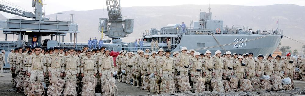 Egyptian troops in Saudi Arabia for joint military exercise - Egyptian Armed Forces