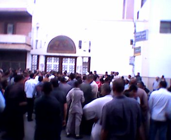 Upper Egypt protests over conversion to Christianity rumour