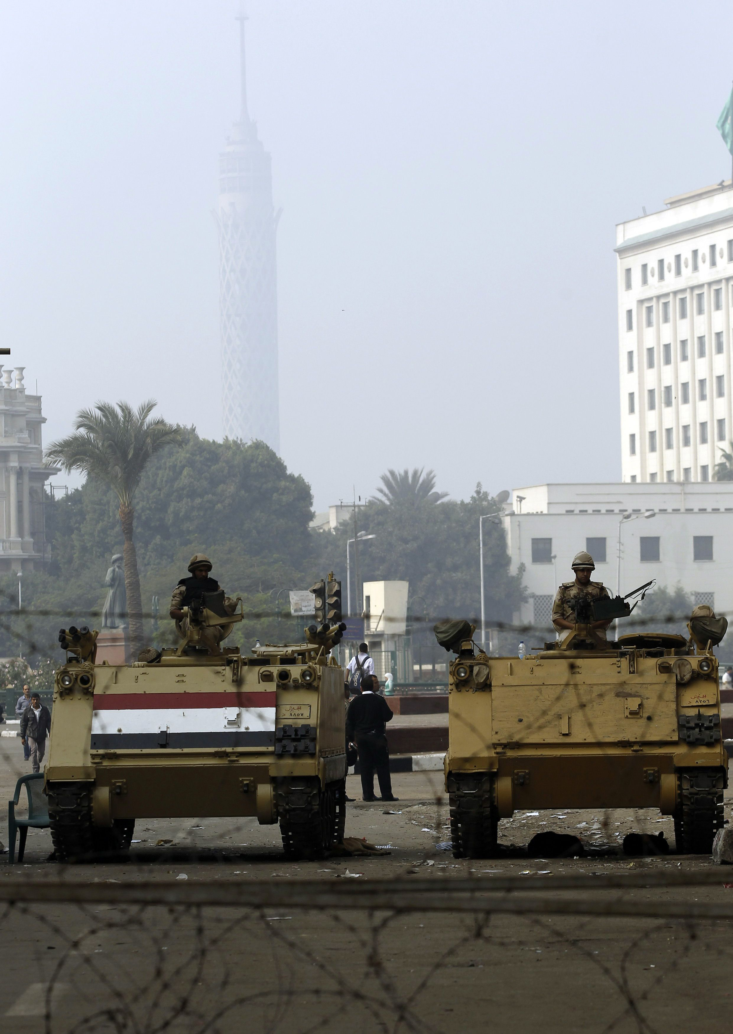 Egypt reopens Cairo's Tahrir Square to traffic