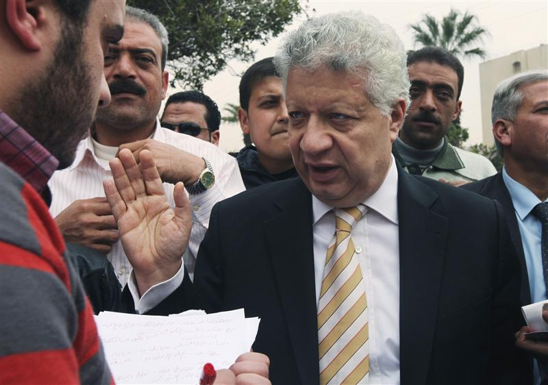 Security forces surround Mortada Mansour's office to arrest him